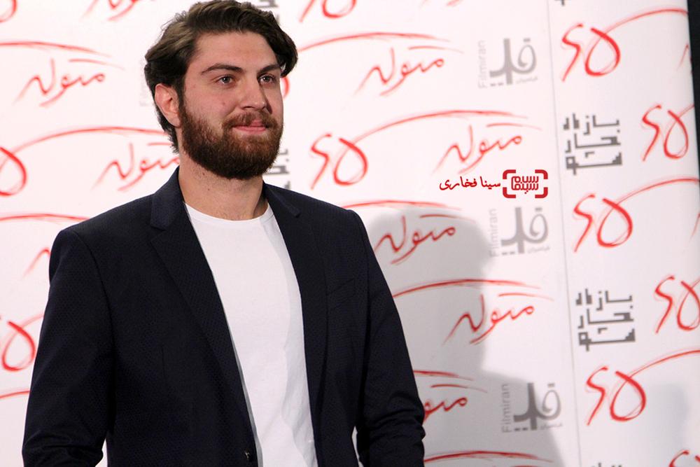 امیرحسین فتحی در اکران خصوصی «متولد 65»