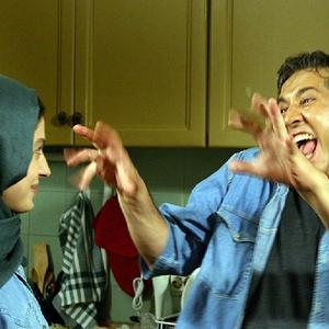 سوفی کیانی و شاهرخ فروتنیان در فیلم «دیشب باباتو دیدم آیدا»