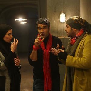 پژمان جمشیدی، سام درخشانی و ویشکا آسایش در فیلم «خوب، بد، جلف»