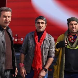 حمید فرخ نژاد، پژمان جمشیدی و سام درخشانی در فیلم «خوب، بد، جلف»