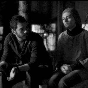 هنگامه قاضیانی و پسرش اشکان  یغمایی در فیلم جینگو