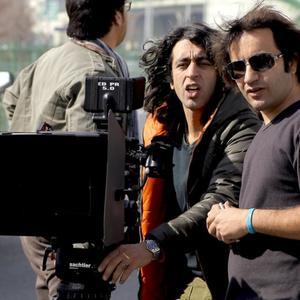 تورج اصلانی در پشت صحنه فیلم جینگو