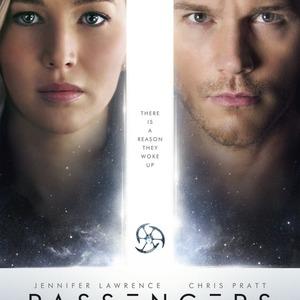 پوستر فیلم «مسافران»(Passengers) با بازی کریس پرت و جنیفر لارنس