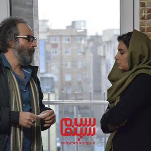 لیندا کیانی و حامد رحیمی نصر در فیلم «بازدم»
