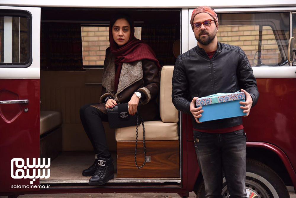 هومن سیدی و بهاره کیان افشار در سریال «گلشیفته»