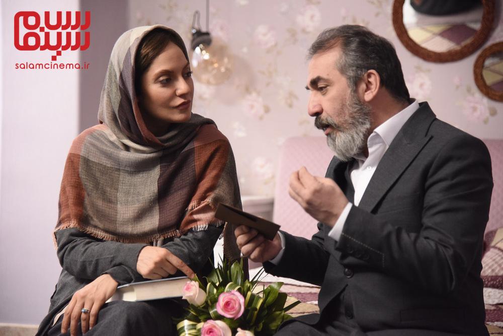 سیامک انصاری و مهناز افشار در سریال «گلشیفته»