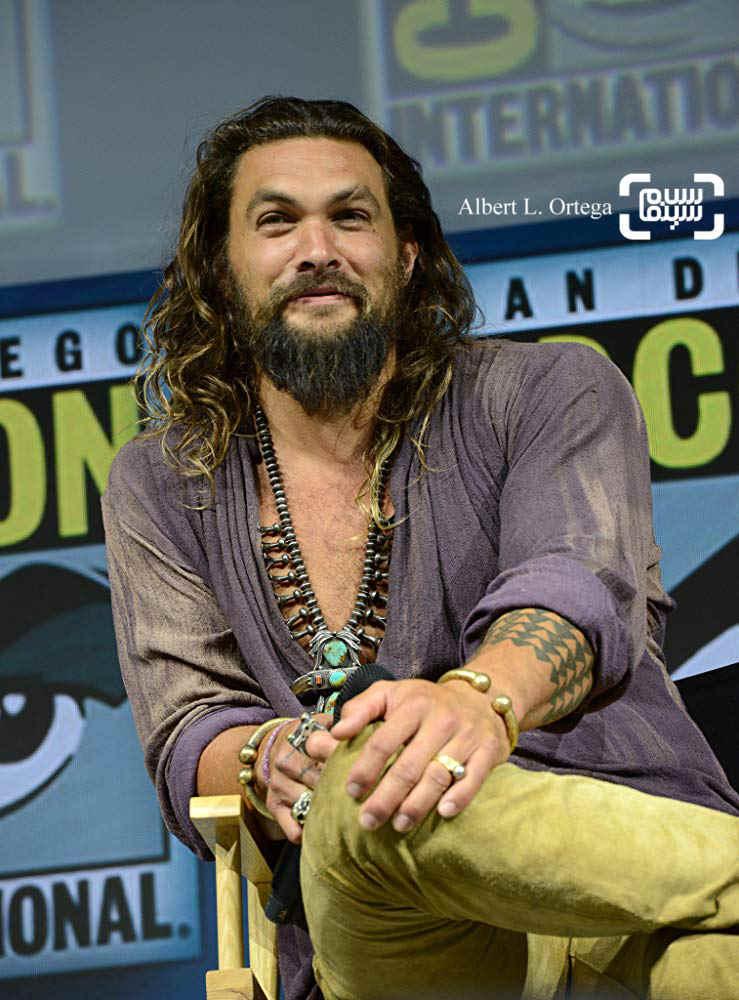 جیسون موموآ در نشست کامیک-کان فیلم «آکوامن»(Aquaman)