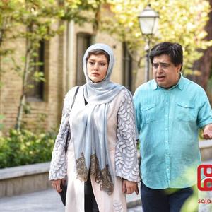 رضا شفیعی جم و سحر قریشی در فیلم «آپاچی»