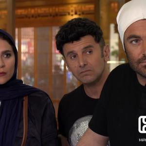 امین حیایی، محمدرضا گلزار و سحر دولتشاهی در قسمت 12 سریال «ساخت ایران2»