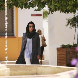 لیلا حاتمی در فیلم «مردی بدون سایه»