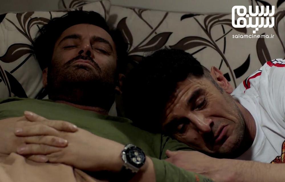 امین حیایی و محمدرضا گلزار در قسمت 13 سریال «ساخت ایران 2»
