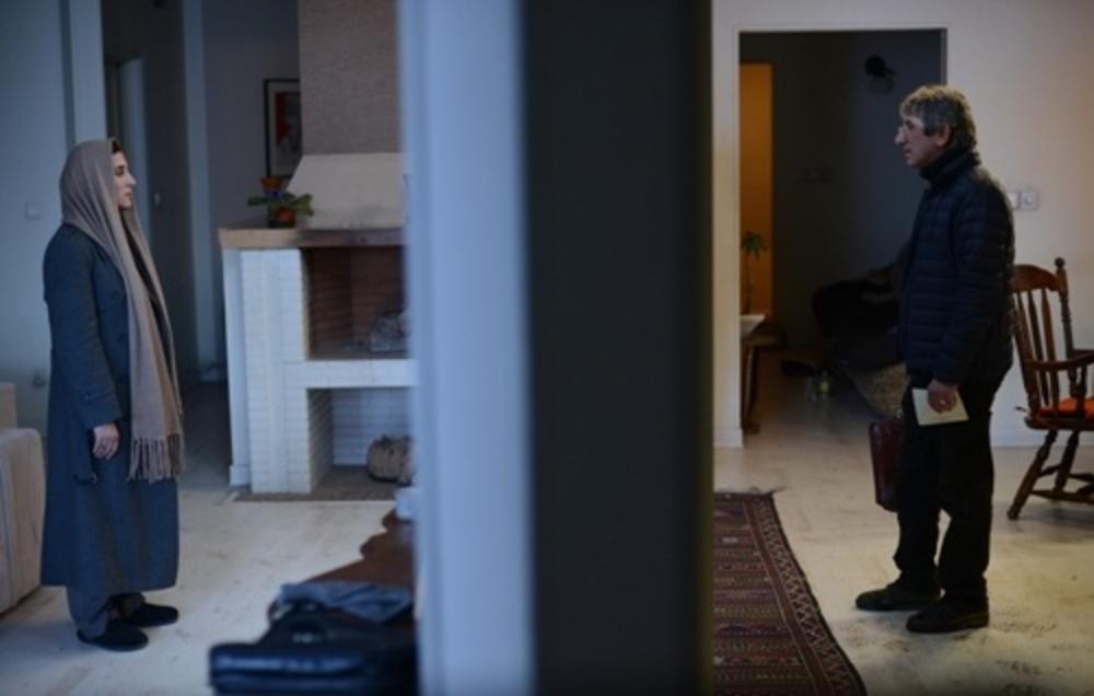 فاطمه معتمدآریا و همسرش احمد حامد در فیلم بهمن