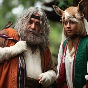 محمدرضا شریفی نیا و ترلان پروانه در فیلم «اختاپوس; پیشونی سفید»