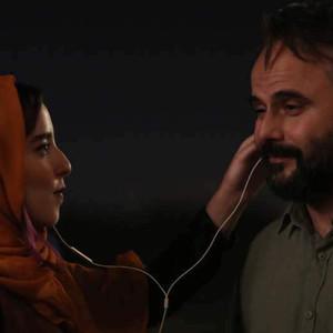 علی مصفا و به آفرید غفاریان در فیلم «مردی بدون سایه»