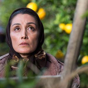 هدیه تهرانی در فیلم «روزهای نارنجی»