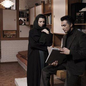 لیلا حاتمی و فرزان اطهری در نمایی از فیلم چهل سالگی