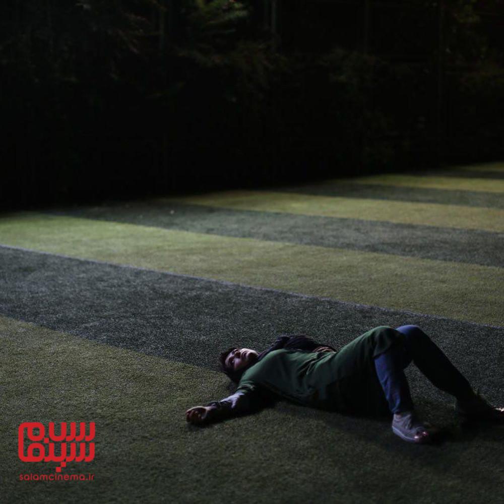 باران کوثری در فیلم «عرق سرد»