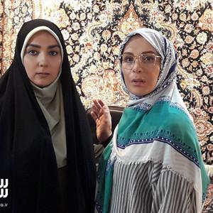 افسانه بایگان و سارا صوفیانی در سریال «روزهای بی قراری 2»