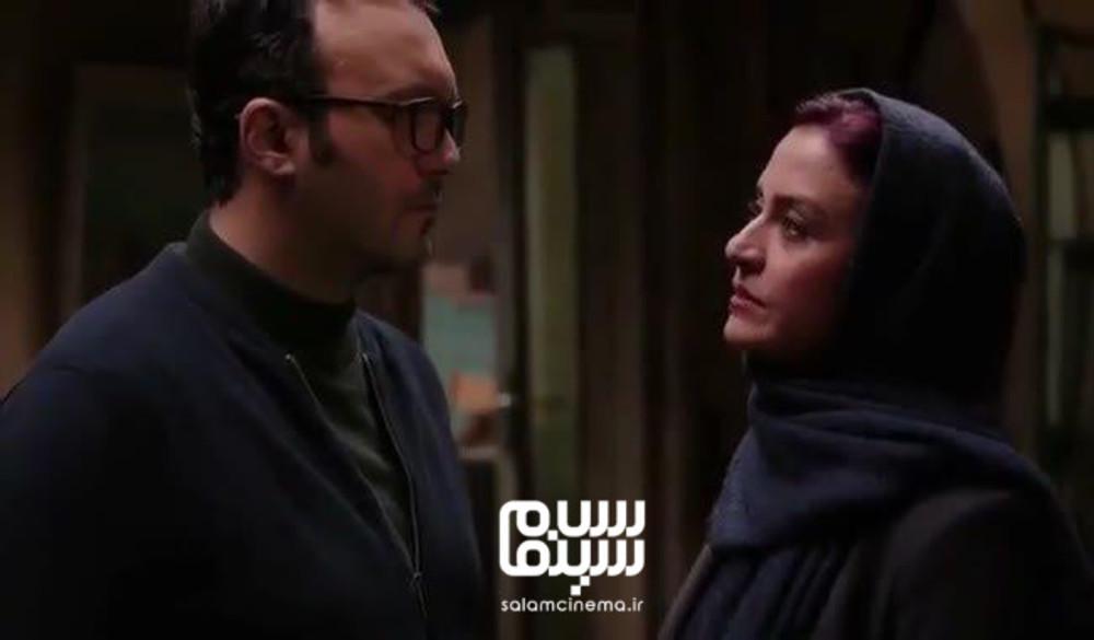 مریلا زارعی و کامبیز دیرباز در فیلم سینمایی «سوء تفاهم»