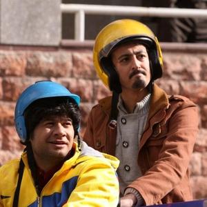 علی صادقی و آرش اسد در فیلم «شیر یا خط»