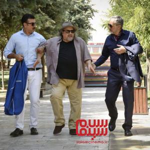 بیژن بنفشه خواه، محمدرضا شریفی نیا و علی انصاریان در فیلم «کلوب همسران»