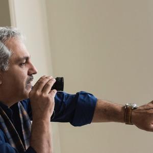 مهران مديرى در پشت صحنه فیلم «ساعت ٥ عصر»