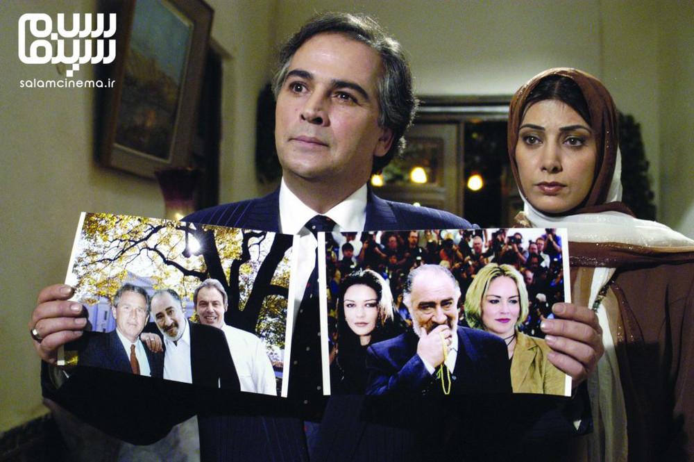 سعید کنگرانی و لادن طباطبایی در فیلم «ازدواج به سبک ایرانی»