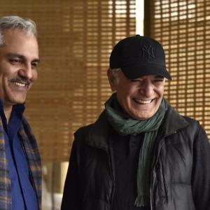 مهران مديرى و کوهیار کلاری در پشت صحنه فیلم «ساعت ٥ عصر»