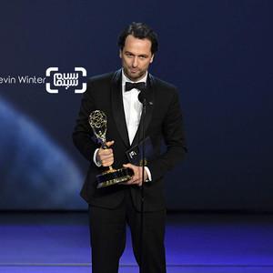 متیو ریس برنده جایزه بهترین بازیگر مرد درام برای «آمریکاییها»(The Americans) در امی 2018