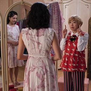 کنستانس وو و آکوافینا در فیلم سینمایی «آسیایی های خرپول» (Crazy Rich Asians)