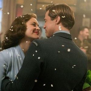 برد پیت و ماریون کوتیار در فیلم «متفقین»(Allied)