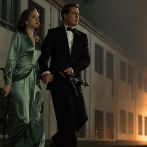 برد پیت و ماریون کوتیار در فیلم سینمایی «متفقین»(Allied)