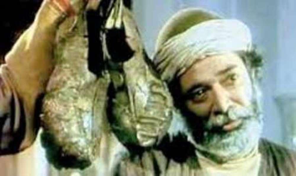 علی نصیریان در فیلم «کفش های میرزا نوروز»