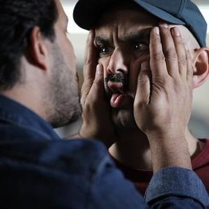 حبیب رضایی و حامد بهداد در فیلم آرایش غلیظ