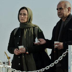 پرویز پرستویی و سهیلا گلستانی در فیلم بوفالو