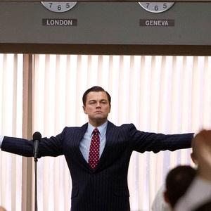 لئوناردو دی کاپریو در فیلم «گرگ وال استریت»(The Wolf of Wall Street)