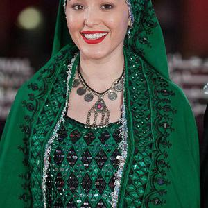 فرشته حسینی در فرش قرمز جشنواره فیلم مراکش2016