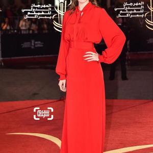 فرشته حسینی، بازیگر فیلم «رفتن» در جشنواره فیلم مراکش 2016