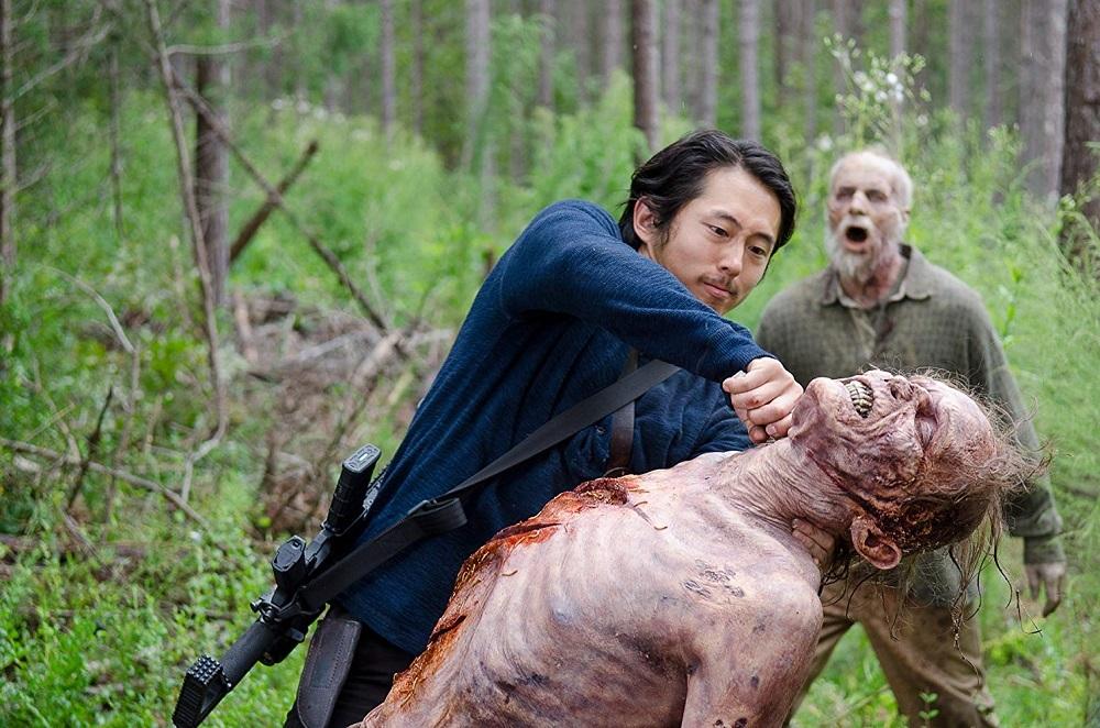 استیون ین در سریال «مردگان متحرک» (The Walking Dead)