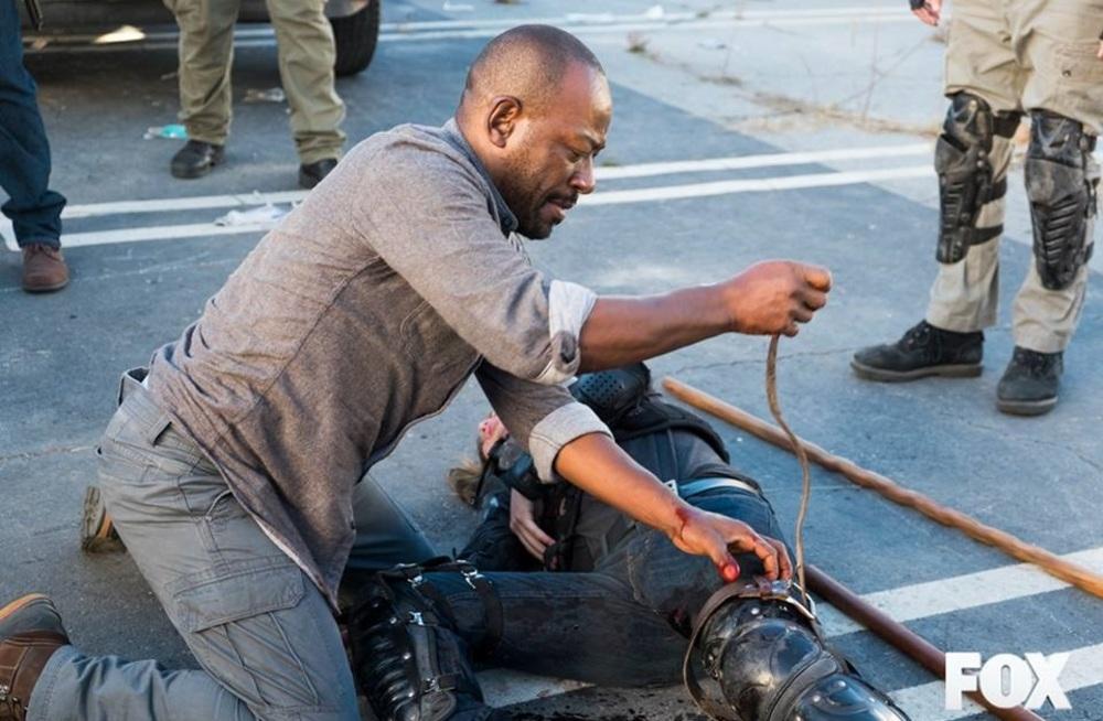 لنی جیمز در سریال «مردگان متحرک» (The Walking Dead)