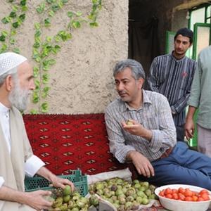 محمدرضا هدایتی و حمید گودرزی در فیلم ایران برگر