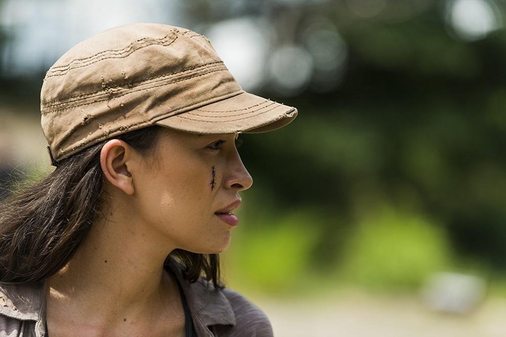 کریستین سراتوس در سریال «مردگان متحرک» (The Walking Dead)