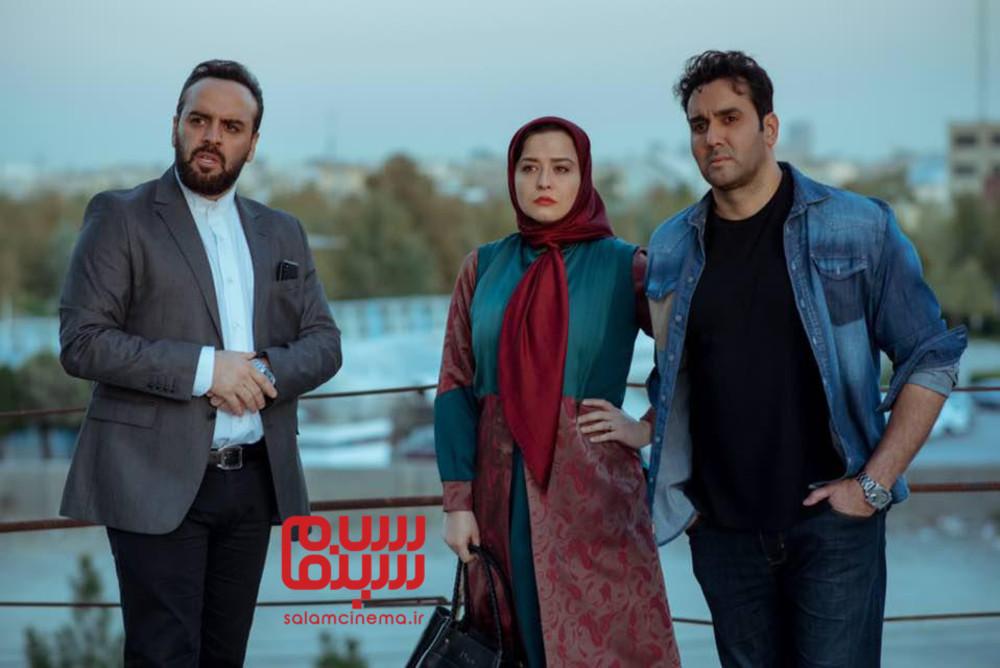 مهراوه شریفی نیا، پوریا پورسرخ و بهرنگ علوی در فیلم «مدیترانه»