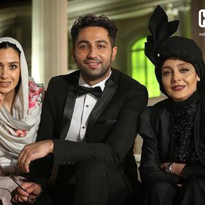 ساره بیات، علی سخنگو و سارا نجفی در پشت صحنه فیلم «رحمان 1400»