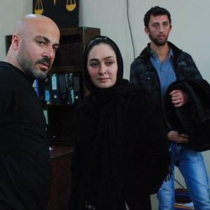 امیر آقایی و الهام حمیدی در فیلم «ما همه گناهکاریم»