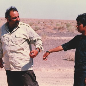 محمد کاسبی و حسن صادقی در فیلم «پدر»