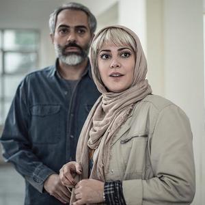 طناز طباطبایی و علی قربانزاده در فیلم «بی حساب»