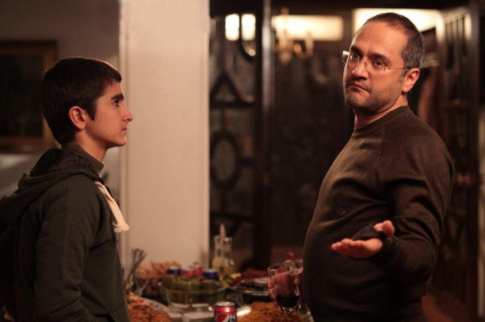 رامبد جوان و علیرضا مظفری در فیلم آزادی مشروط