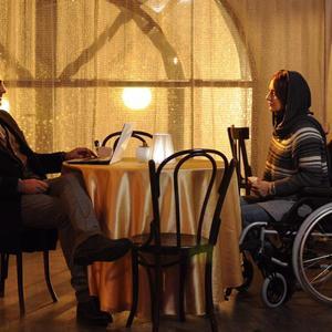 مهناز افشار و حامد کمیلی در فیلم «گیلدا»