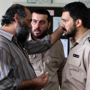 حامد بهداد، محسن کیایی و نادر فلاح در فیلم «سد معبر»